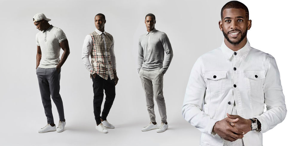 Chris Paul Clothing Club Advertisement